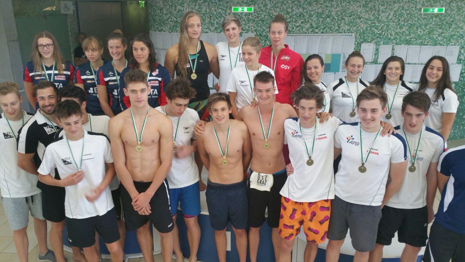 Leistungsschwimmen Atus Graz
